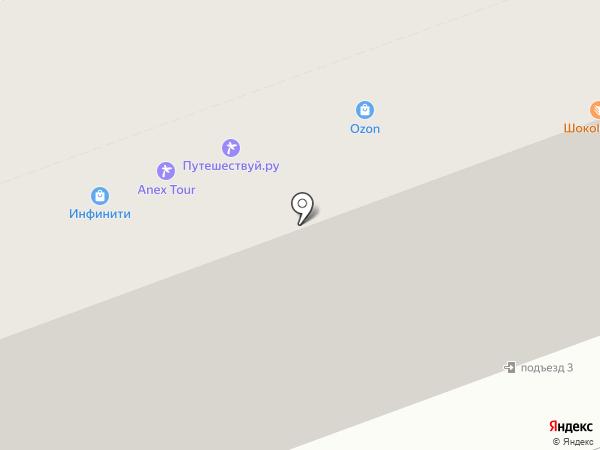 Анекс Тур на карте Нижнего Новгорода