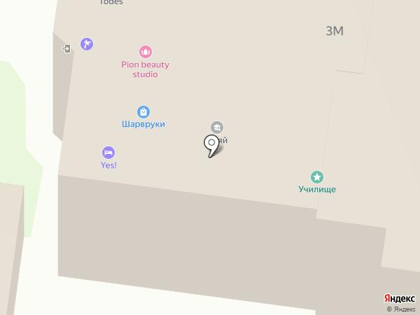 KAT`USHA dance studio на карте Нижнего Новгорода