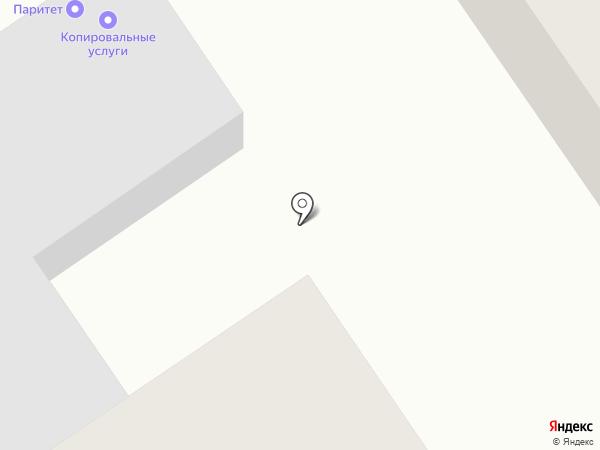 Белая чашка на карте Нижнего Новгорода