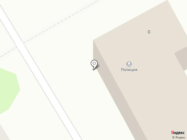 Участковый пункт полиции на карте Бора