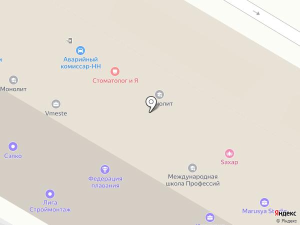 Лига успешных агентов недвижимости, НОУ на карте Нижнего Новгорода