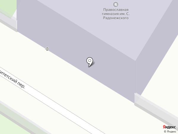 Нижегородская православная гимназия им. преподобного Сергия Радонежского на карте Нижнего Новгорода