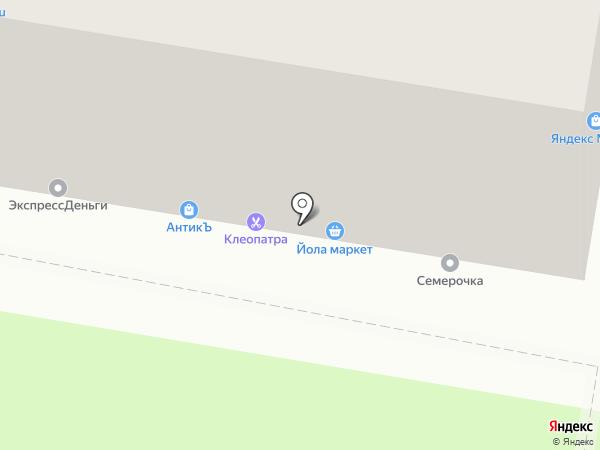 Максавит на карте Нижнего Новгорода