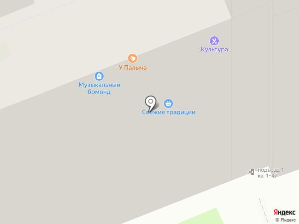 Пауэрлифтинг-НН на карте Нижнего Новгорода
