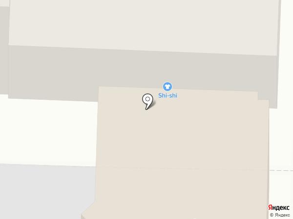 SHI-SHI на карте Нижнего Новгорода