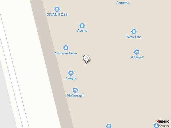 Сон-Сервис на карте Нижнего Новгорода
