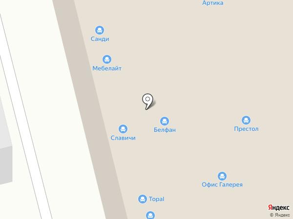 Авторский интерьер на карте Нижнего Новгорода
