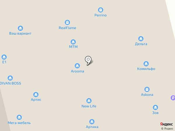 МТМ на карте Нижнего Новгорода