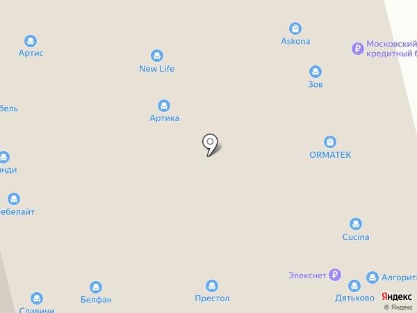 Феникс-М на карте Нижнего Новгорода