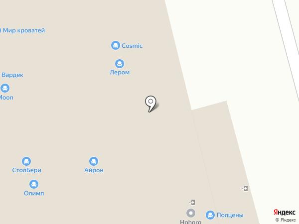TM Aristo на карте Нижнего Новгорода