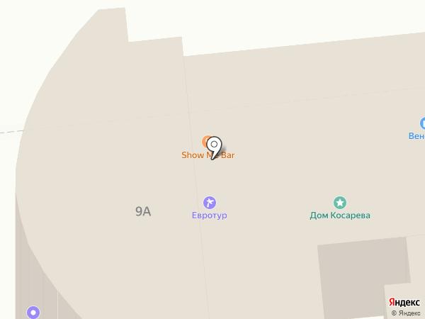Солярий на карте Нижнего Новгорода