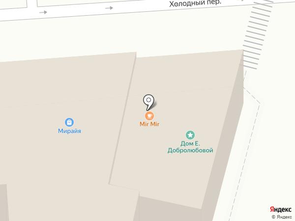 МиРАйЯ на карте Нижнего Новгорода