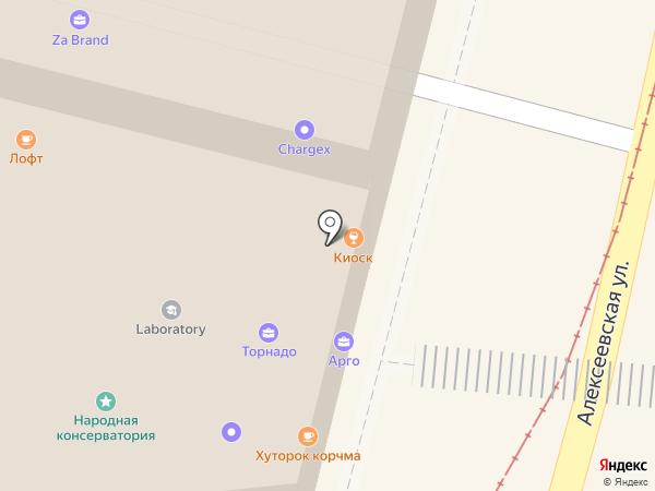 Фидель на карте Нижнего Новгорода