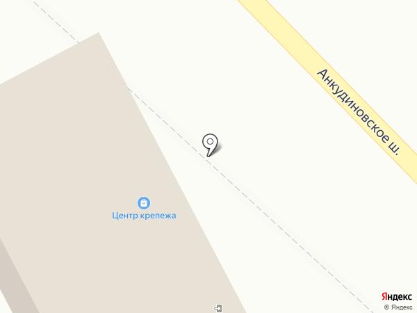 Магазин крепежа и электроинструмента на карте Нижнего Новгорода