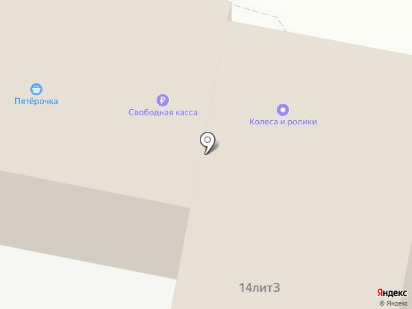 Мебельная компания на карте Нижнего Новгорода