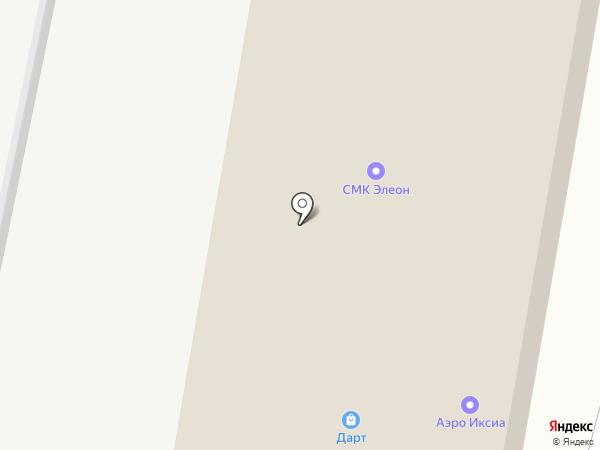 Бизнес Партнер на карте Нижнего Новгорода