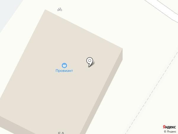 Провиант на карте Бора