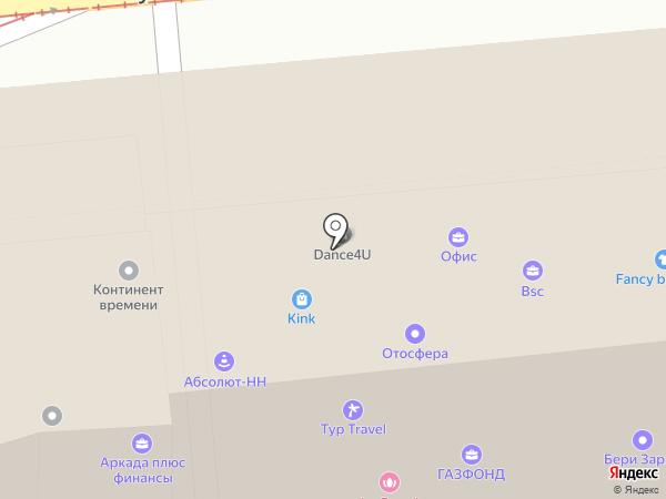 Ростовская финифть на карте Нижнего Новгорода