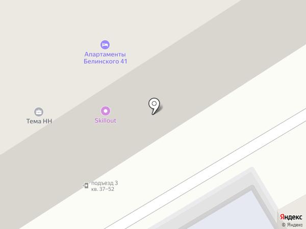 Свит мама на карте Нижнего Новгорода