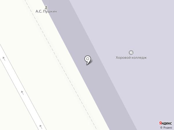 Нижегородская хоровая капелла им. Л.К. Сивухина на карте Нижнего Новгорода