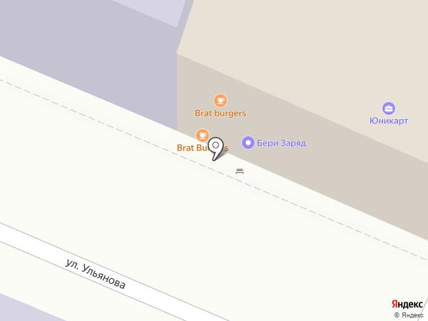 Brat на карте Нижнего Новгорода