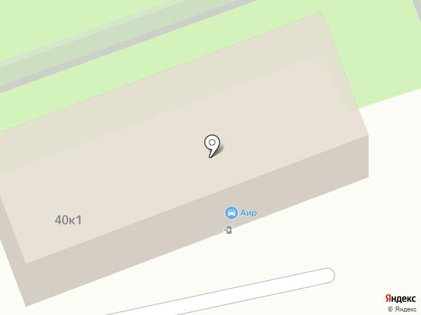 Автокомплекс на карте Нижнего Новгорода