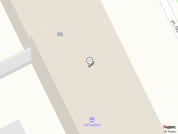 Ортодинамика №1 НН на карте Нижнего Новгорода