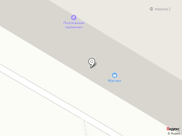 Магнит на карте Бора