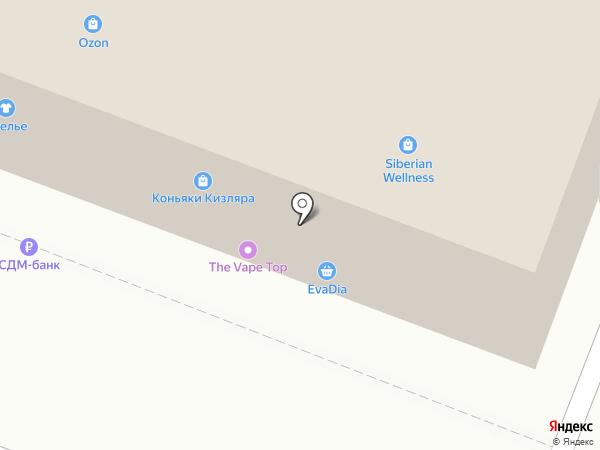 Банкомат, Сдм-банк, ПАО на карте Нижнего Новгорода