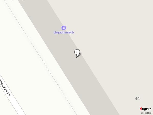 ЦирюльникЪ на карте Нижнего Новгорода