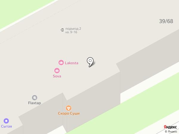 НИЖКОММСВЯЗЬ на карте Нижнего Новгорода
