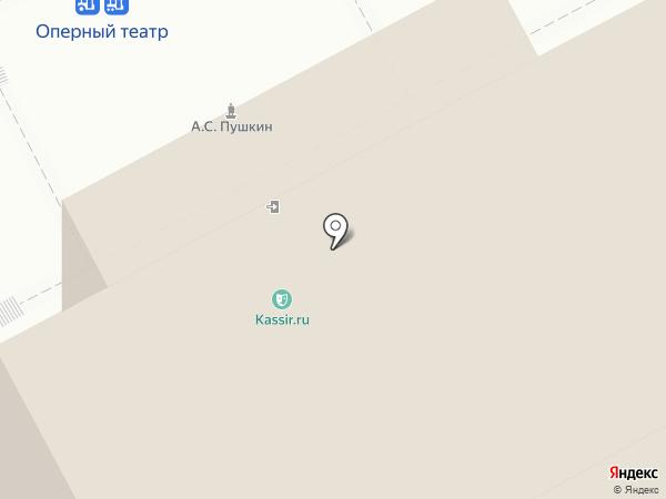К-Концерт на карте Нижнего Новгорода