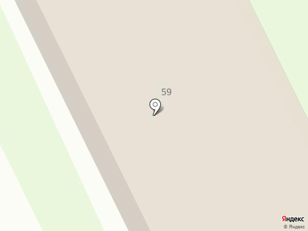 Приволжский поисково-спасательный отряд МЧС России на карте Бора
