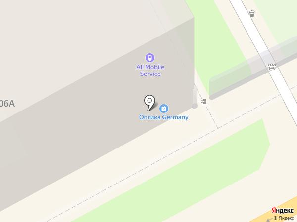 All mobile service на карте Нижнего Новгорода