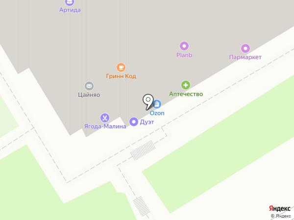 Фортуна на карте Нижнего Новгорода