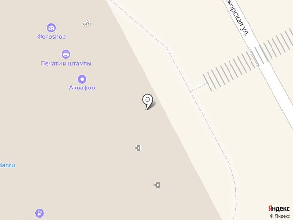 Центр печатей и штампов на карте Нижнего Новгорода