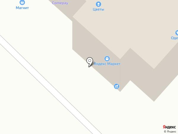 Салон мебели на карте Бора