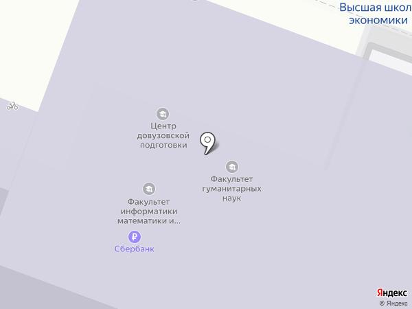 Банкомат, Банк Открытие, ПАО на карте Нижнего Новгорода