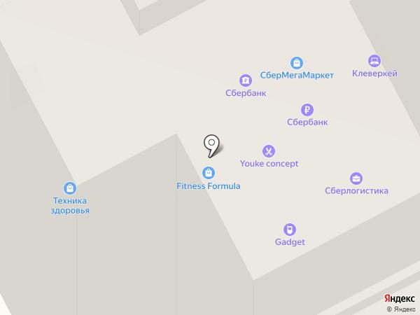 Fitness Formula на карте Нижнего Новгорода