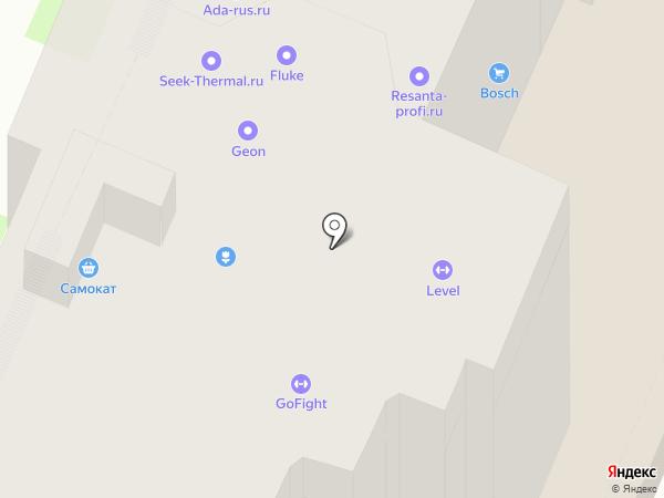 Дом на Провиантской на карте Нижнего Новгорода