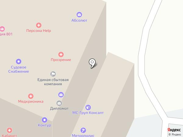 Italy Deluxe на карте Нижнего Новгорода