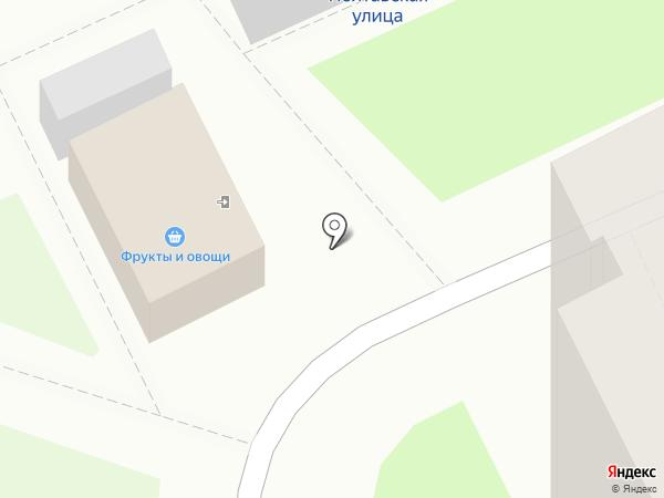 Шарик на карте Нижнего Новгорода