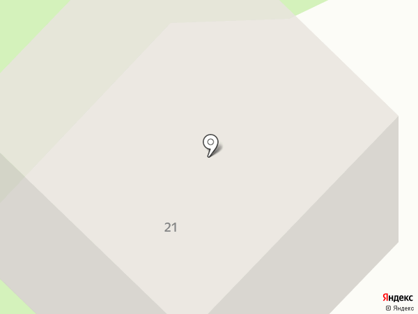 Растяпино на карте Бора