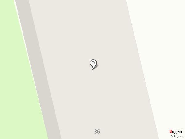 СДЮСШОР №12 по спортивному ориентированию на карте Нижнего Новгорода