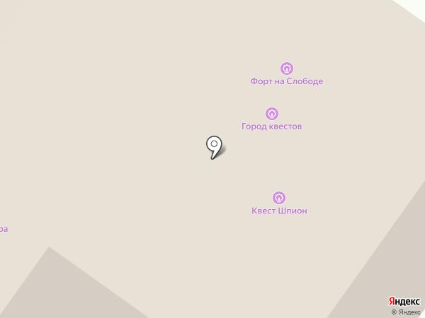 Сервисная компания на карте Нижнего Новгорода