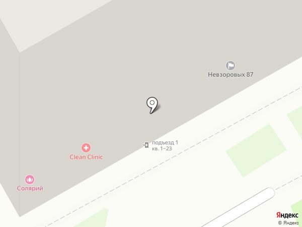 Мастеркласс на карте Нижнего Новгорода