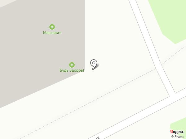 Здравком на карте Нижнего Новгорода