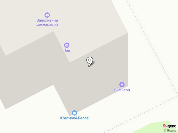 Страховой дом на карте Нижнего Новгорода