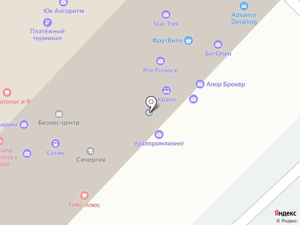 АВТОЭКСПОРТ на карте Нижнего Новгорода
