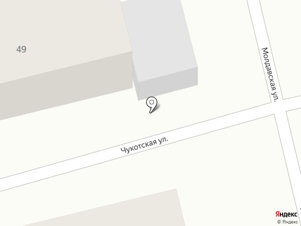 Ремонтная мастерская на карте Нижнего Новгорода